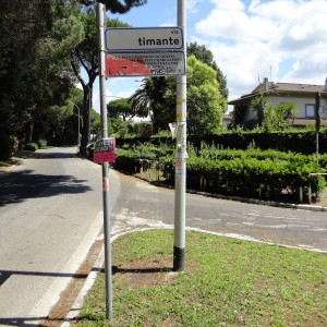 Road Signs in Rome