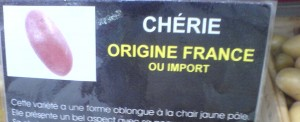 Where do Chérie potatoes come from? A global answer to the problem. Image credit: Roberto Casati, Villiers-en-Bière, August 2014.