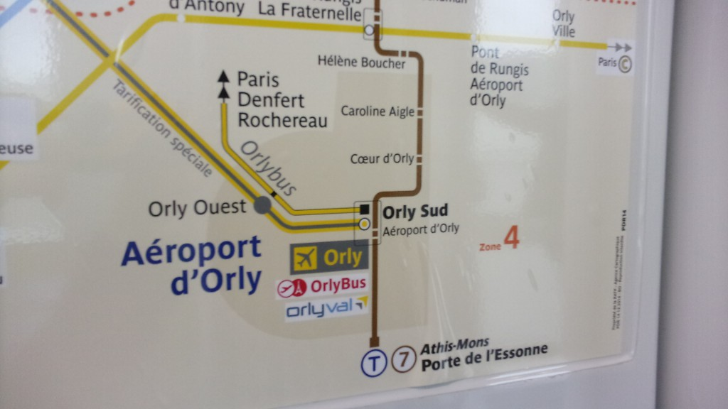 "Count how many times you can read the name ""Orly"". image credit: Roberto Casati, Paris, Novembre 2016"